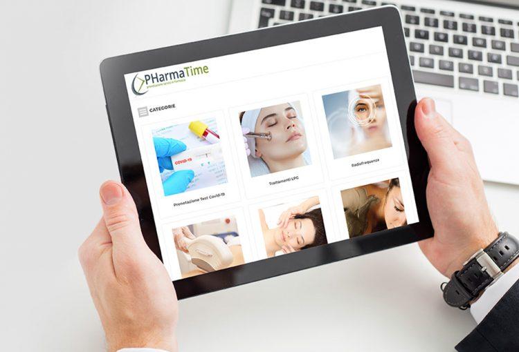PharmaTime prenotazione servizi